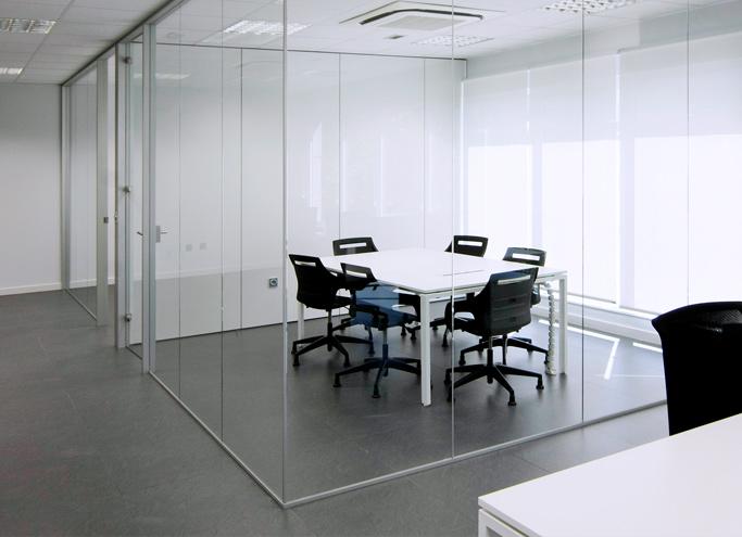 Productos - Cerramientos - Mamparas oficina
