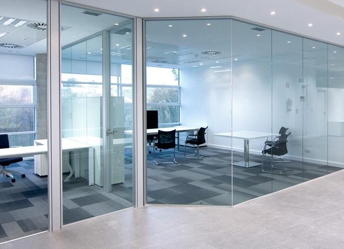 Productos - Cerramientos: Mamparas oficinaProductos - Cerramientos - Mamparas oficina